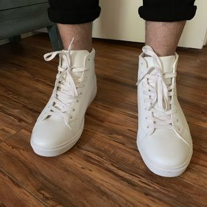 ASOS - White High Top Sneakers